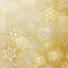 vintage christmas paper yellow christmas paper with white vintage snowflakes stock