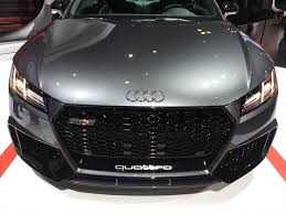 2017 new york auto show 2018 audi tt rs makes american debut