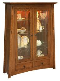 Mission Style Curio Cabinet Plans 176 Best Amish Curio Cabinets Images On Pinterest Curio Cabinets