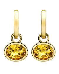 mcdonough citrine drop earrings mcdonough 18k gold eternal citrine drop earrings neiman