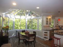 Sunroom Dining Room Adorable With Using A Partial Sunroom Addition - Sunroom dining room