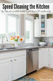 Clean Grease Off Kitchen Cabinets Clean And Organize The Kitchen February Hod Printables Clean