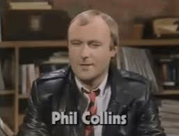 Phil Collins Meme - phil collins 80s gif find share on giphy