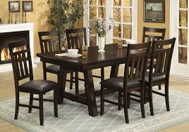 Dining Room Tables Rustic Hollyhock Distressed White Dining Room Set From Homelegance 5123