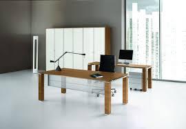 Chefschreibtisch Chefschreibtisch Holz Glas Modern Jet Bralco