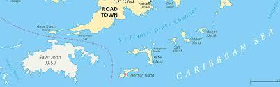 St Thomas Virgin Islands Map Virgin Island Boat Charters Norman Island St Thomas Boat Charters