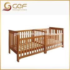twins babies wooden crib baby cot bed for twins gef bb 108 view