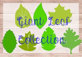 diy giant paper flower leaf templates diy paper flower kit svg