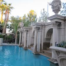 Patio That Turns Into Pool Turn Your Backyard Into A Resort With Architectural Rocks