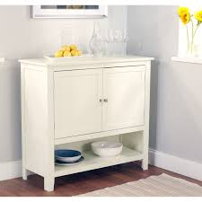 furniture white sideboard buffet with two drawers and glass door