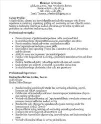 Medical Office Manager Resume Examples by 48 Manager Resume Templates