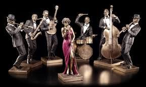 the jazz band figurine clarinet player veronese www figuren