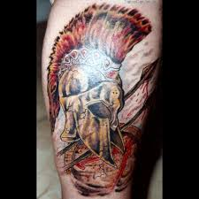 spartan warrior design flash tattoosdealcom tattoos