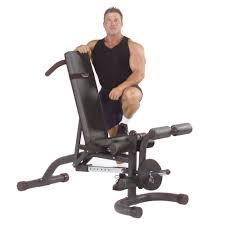 amazon com body solid fid46 flat incline decline bench