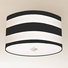 deck stripe drum shade ceiling light 3 colors entry or hallway