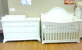 White Crib And Changing Table Combo Crib With Dresser White Crib And Dresser Crib And Dresser White
