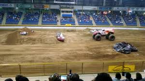 monster truck show amarillo texas monster truck freestyle at the denver winter nationals youtube