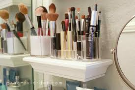 Organizing Bathroom Ideas Bathroom Makeup Organization Ideas Wpxsinfo