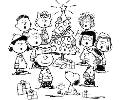 solutions free printable charlie brown christmas coloring