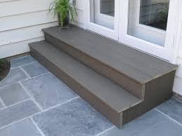 patio door stairs ideas planspatio ideaspatio plans amazing