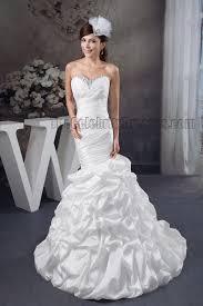 trumpet wedding dresses trumpet mermaid strapless sweetheart beaded ruffles wedding dress
