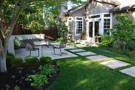 Backyard Pavers Ideas Backyard Pavers Ideas Exterior Mediterranean With Stepping Stones