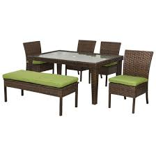 Wicker Patio Dining Table Jazz Up The Patio With An Outdoor Dining Table We Bring Ideas