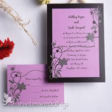 invitations for weddings black frame wedding invitation iwi127 wedding invitations online