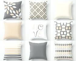 Grey Decorative Pillows Throw Pillows For Brown Couches Grey Decorative Black Leather Sofa