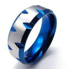 mens blue wedding bands wedding rings mens blue band for wedding unique wedding ring