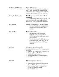 Driller Resume Example by Mig Welding Resume Best Welder Resume Example Livecareer Mig