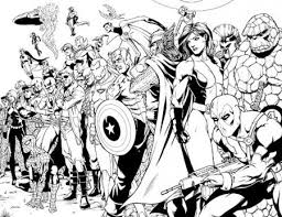 ultimate avengers coloring pages bing images boys room