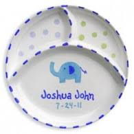 baby birth plates personalized personalized baby plates