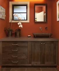 orange bathroom ideas color schemes brown orange white in the bathroom ben s