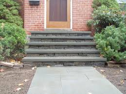 Wooden Front Stairs Design Ideas Exteriors Astounding Front Step Decor Ideas With Wooden Front