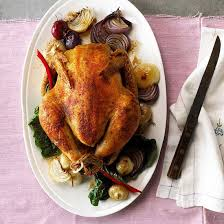 thanksgiving menu roast chicken dinner
