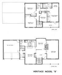 Floor Plan Of The House Mid Century Modern And 1970s Era Ottawa December 2010