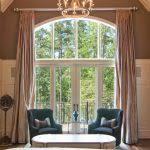 Tropical Curtain Panels Tropical Curtain Panels Bedroom Tropical With Beige Nightstands