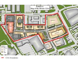 mosaic district map fairfax county establishes community development authority