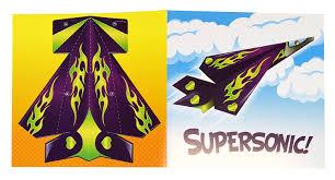 amazon com kangaroo u0027s flying paper airplanes 32 count