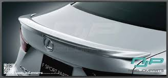 2014 lexus is350 jdm 2015 is has a new spoiler option plus other random tidbits