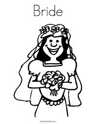congratulations bride groom coloring twisty noodle