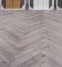 Waterproof Laminate Flooring Tile Effect White Natural Oak Effect Waterproof Luxury Vinyl Click Flooring