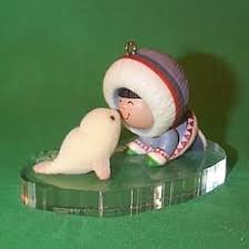 1983 frosty friends 4 noses mnt hallmark ornament