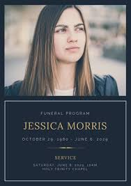 funeral programs online customize 63 funeral program templates online canva