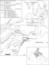 Churchill Canada Map by Geological Setting Of The West Meliadine Gold Deposits Western