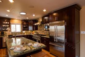 glossy silver kitchen cabinets completed stainless steel kitchens