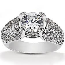 gaudy engagement rings big engagement rings cheap