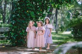 monsoon kids rustic inspiration shoot with monsoon flower girl dresses