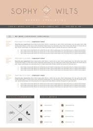 Cv Resume Example Masculine Bold Resume Template Instant Download For Use With